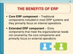 the benefits of erp