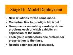 stage ii model deployment1