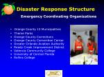 disaster response structure1
