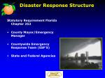 disaster response structure3