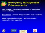 emergency management enhancements1