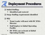 deployment procedures