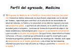 perfil del egresado medicina