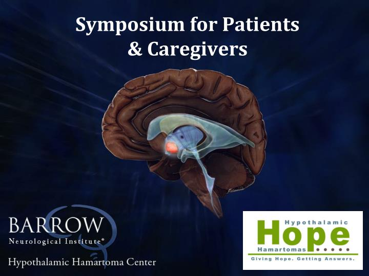 symposium for patients caregivers n.