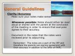 general guidelines4