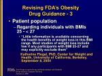 revising fda s obesity drug guidance 3