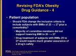 revising fda s obesity drug guidance 4