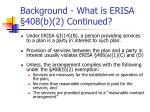 background what is erisa 408 b 2 continued