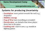 systems for producing uncertainty1