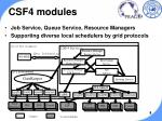 csf4 modules