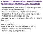4 expans o das fronteiras do controle as possibilidades relacionadas ao contexto