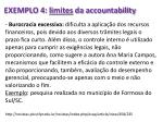 exemplo 4 limites da accountability
