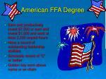 american ffa degree1