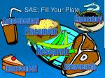 sae fill your plate
