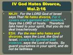 iv god hates divorce mal 2 16