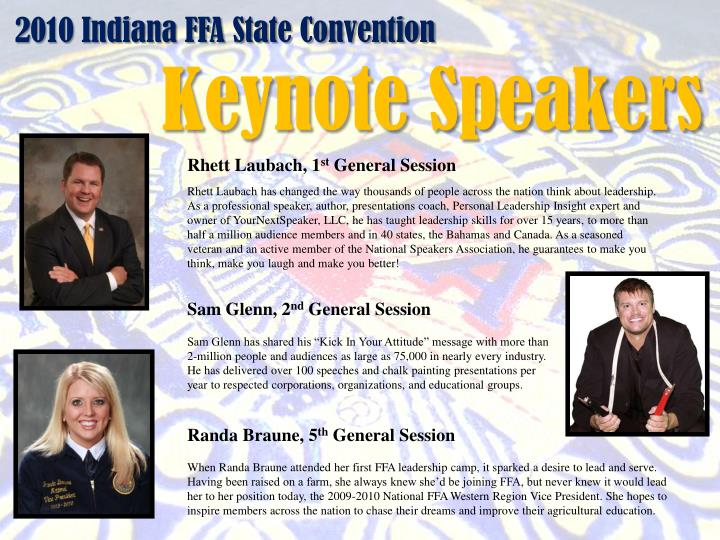 2010 indiana ffa state convention n.