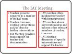 the iat meeting
