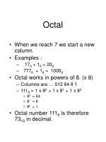 octal1
