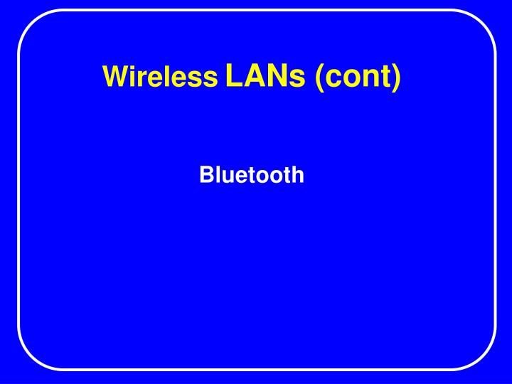 wireless lans cont n.