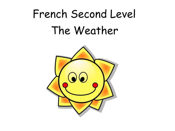 french second level n.