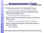 empowerment tools