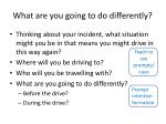 what are you going to do differently
