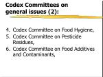 codex committees on general issues 2