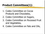 product committees 1