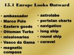 15 1 europe looks outward