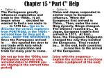 chapter 15 part c help
