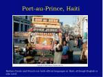 port au prince haiti