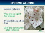 ipromo alumni