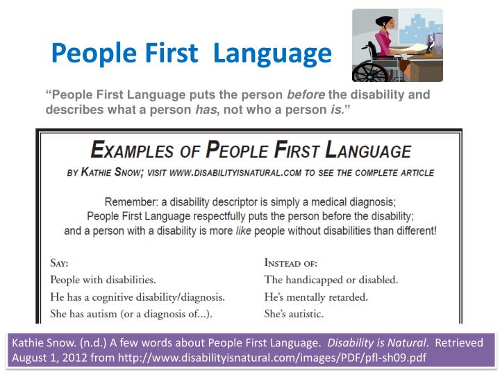 people first language n.