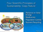 four scientific principles of sustainability copy nature