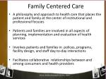 family centered care2