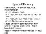 space efficiency1