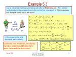 example 5 3