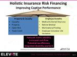 holistic insurance risk financing improving captive performance