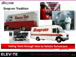 snap on tradition