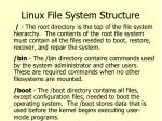 linux file system structure2