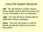 linux file system structure4