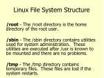 linux file system structure5