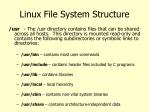 linux file system structure6