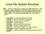 linux file system structure7