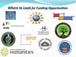 where to look for funding opportunities