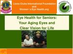 lions clubs international foundation and women s eye health org