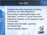 tier iii