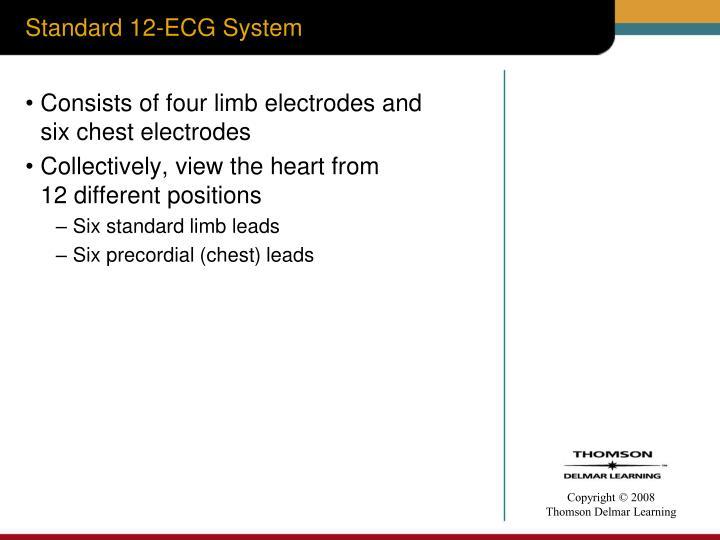 Standard 12 ecg system