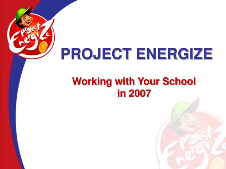project energize n.