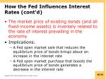 how the fed influences interest rates cont d4